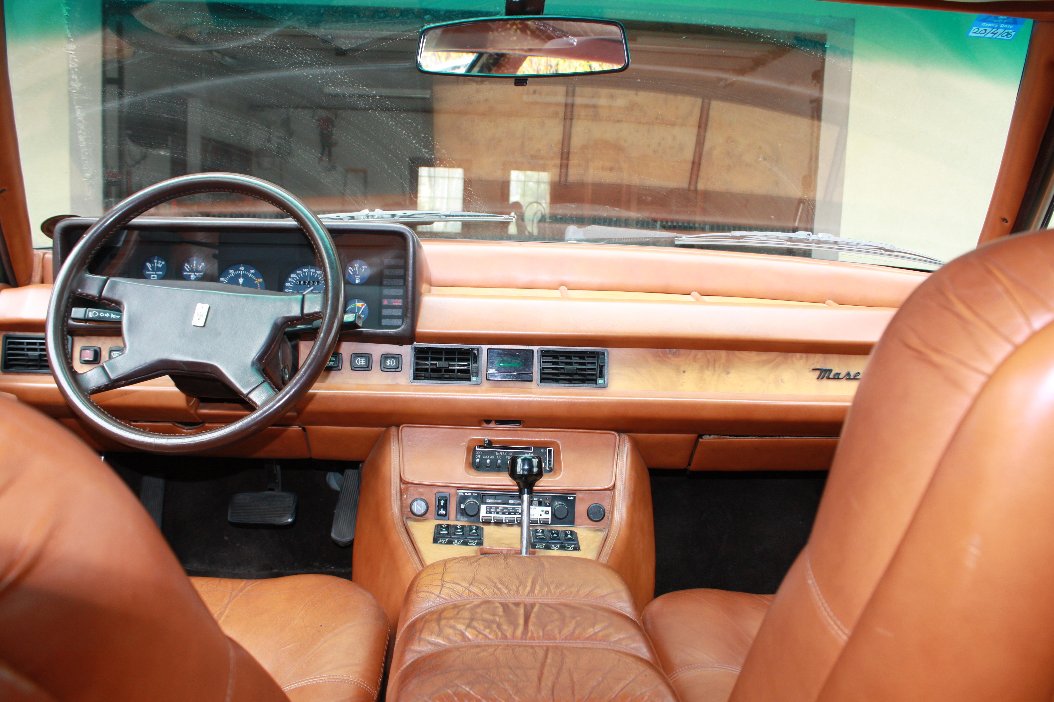 Running a Maserati Quatroporte